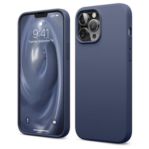 elago SILICONE CASE シリコンケース Jean Indigo iPhone 13 Pro Max【10月下旬】_0