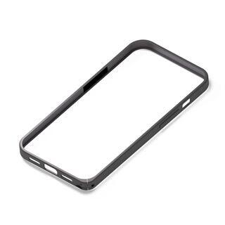 iPhone 13 mini (5.4インチ) ケース アルミバンパー ブラック iPhone 13 mini