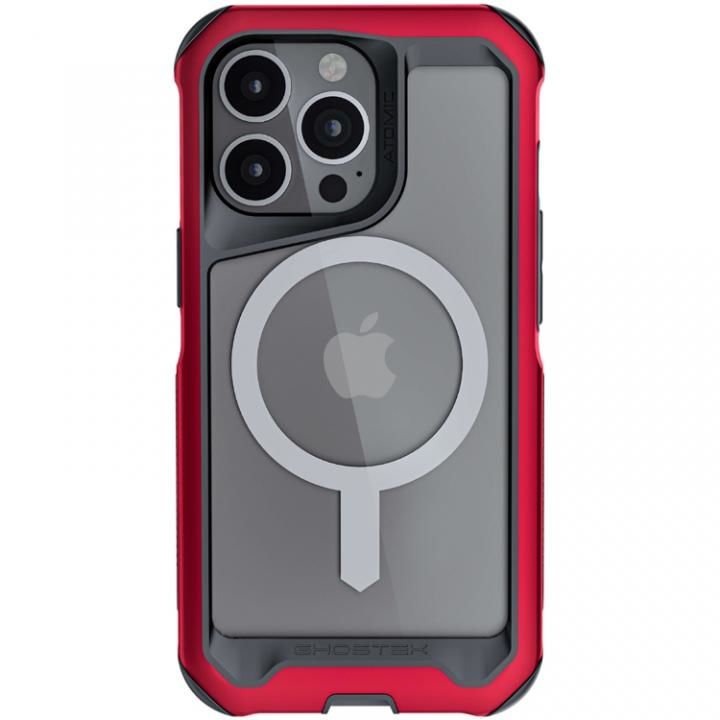 Ghostek ゴーステック アトミックスリム4 with MagSafe レッド iPhone 13 Pro【10月上旬】_0