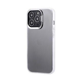 iPhone 13 Pro ケース LEPLUS スタンド付耐衝撃ハイブリッドケース SHELL STAND フロストホワイト iPhone 13 Pro【11月上旬】