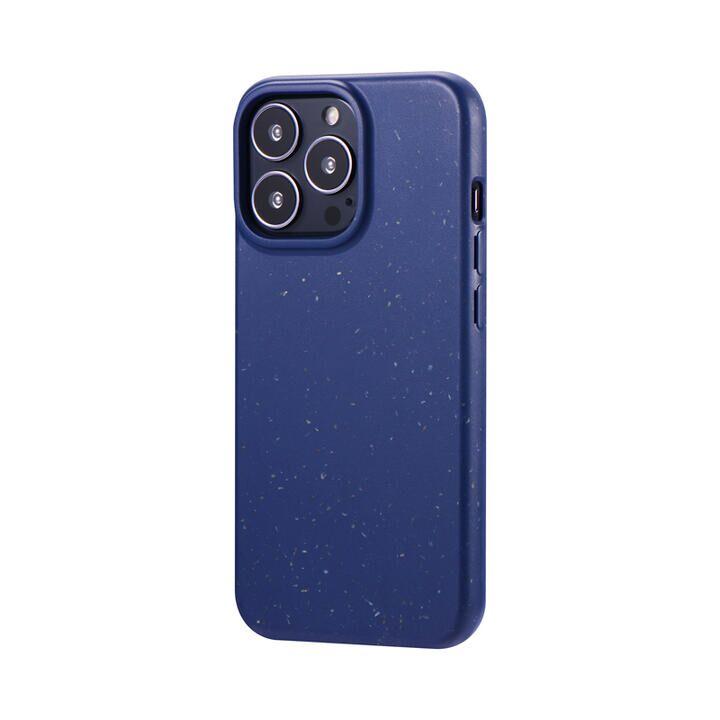 LEPLUS 生分解性ソフトケース SASTINA ディープブルー iPhone 13 Pro【10月下旬】_0