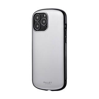 iPhone 13 Pro Max (6.7インチ) ケース LEPLUS 超軽量・極薄・耐衝撃ハイブリッドケース PALLET AIR マットシルバー iPhone 13 Pro Max【10月下旬】