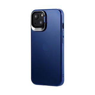 iPhone 13 ケース LEPLUS スタンド付耐衝撃ハイブリッドケース SHELL STAND フロストインディゴ iPhone 13【11月上旬】