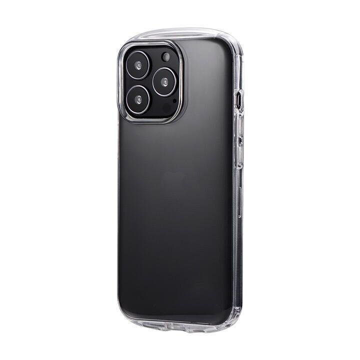 LEPLUS 耐衝撃ラウンドソフトケース CLEAR Round クリア iPhone 13 Pro_0