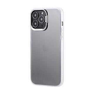iPhone 13 Pro Max (6.7インチ) ケース LEPLUS スタンド付耐衝撃ハイブリッドケース SHELL STAND フロストホワイト iPhone 13 Pro Max