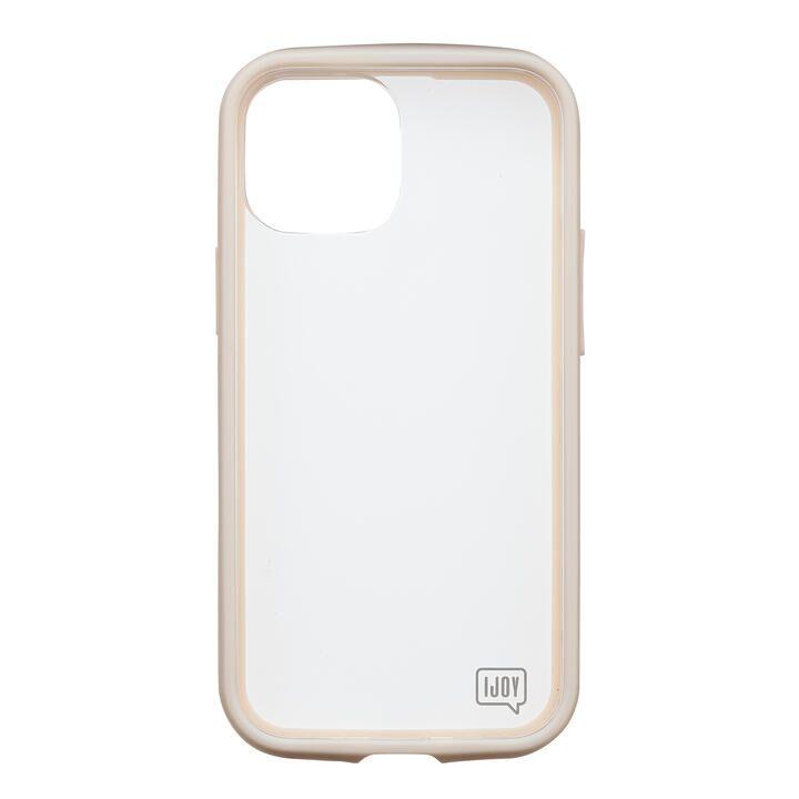 iDress NEWT IJOY クリアベージュ iPhone 13 mini_0
