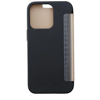 iPhone 13 ケース iDress NEWT CAT FLIP ブラック iPhone 13/iPhone 13 Pro