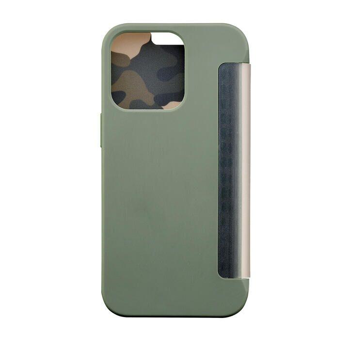 iDress NEWT CAT FLIP カモフラージュ iPhone 13/iPhone 13 Pro_0