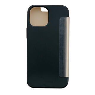iPhone 13 mini (5.4インチ) ケース iDress NEWT CAT FLIP ブラック iPhone 13 mini