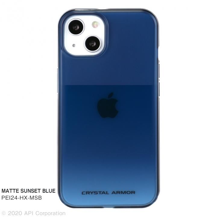 CRYSTAL ARMOR HEXAGON MATTE SUNSET BLUE iPhone 13_0