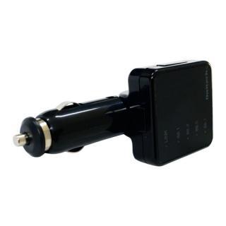 12-24V車対応 Bluetooth ver3.0 FMトランスミッター ブラック