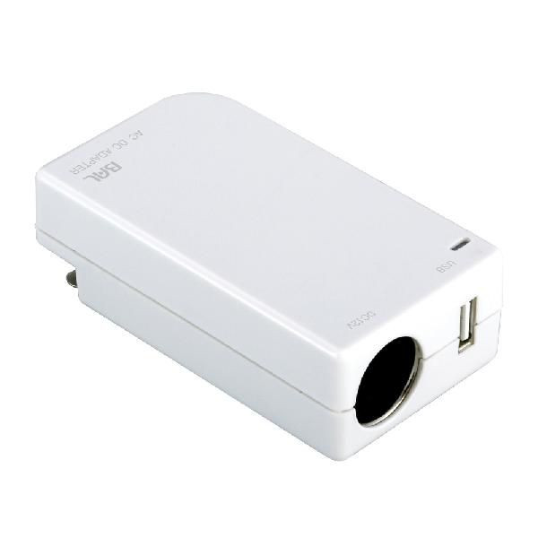 カー用品が家庭で使える AC/DCアダプター_0