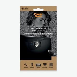 iPhone 13 Pro Max (6.7インチ) フィルム PanzerGlass パンザグラス Swarovski製カメラスライダー付き抗菌スクリーンプロテクタ iPhone 13 Pro Max