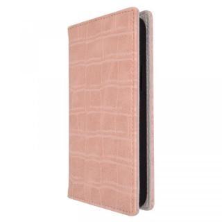 iPhone 13 Pro ケース rienda クロコ型押し手帳 ベビーピンク iPhone 13 Pro