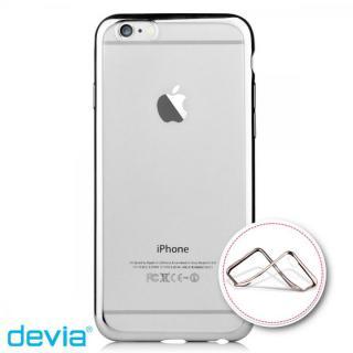 iPhone6s/6 ケース メッキメタル風TPUケース シルバー iPhone 6s/6