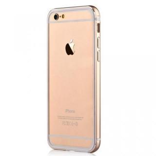 TPU/アルミバンパー ゴールド iPhone 6s/6