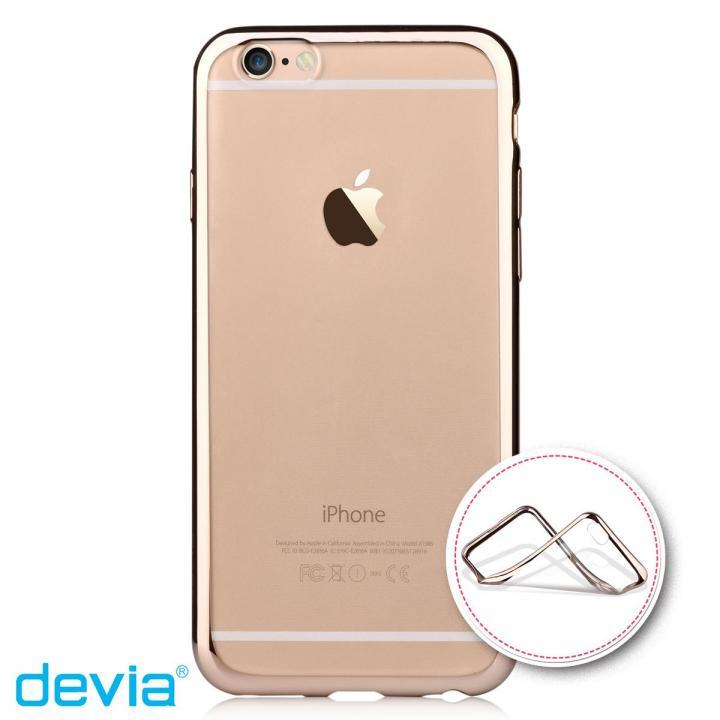 iPhone6s Plus/6 Plus ケース メッキメタル風TPUケース ゴールド iPhone 6s Plus/6 Plus_0