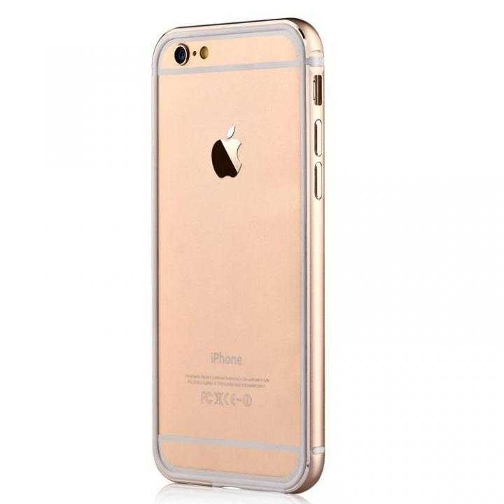 iPhone6s Plus/6 Plus ケース TPU/アルミバンパー ゴールド iPhone 6s Plus/6 Plus_0
