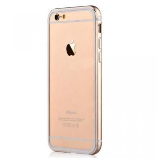 iPhone6s Plus/6 Plus ケース TPU/アルミバンパー ゴールド iPhone 6s Plus/6 Plus