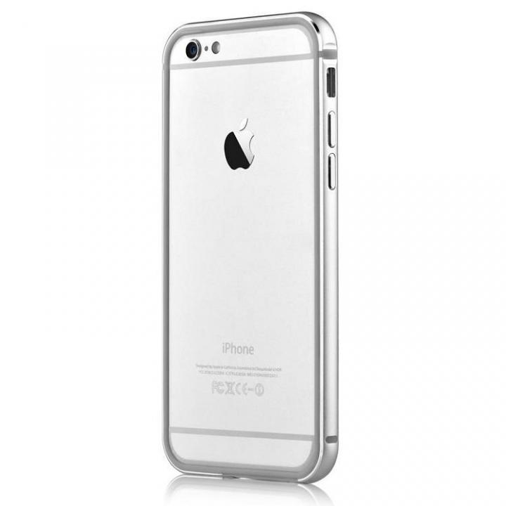 iPhone6s Plus/6 Plus ケース TPU/アルミバンパー シルバー iPhone 6s Plus/6 Plus_0
