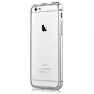 iPhone6s Plus/6 Plus ケース TPU/アルミバンパー シルバー iPhone 6s Plus/6 Plus