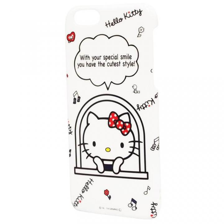 【iPhone6ケース】ハローキティ ハードケース 窓 iPhone 6ケース_0