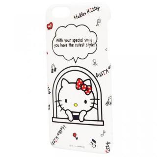 【9月下旬】ハローキティ ハードケース 窓 iPHone 6ケース