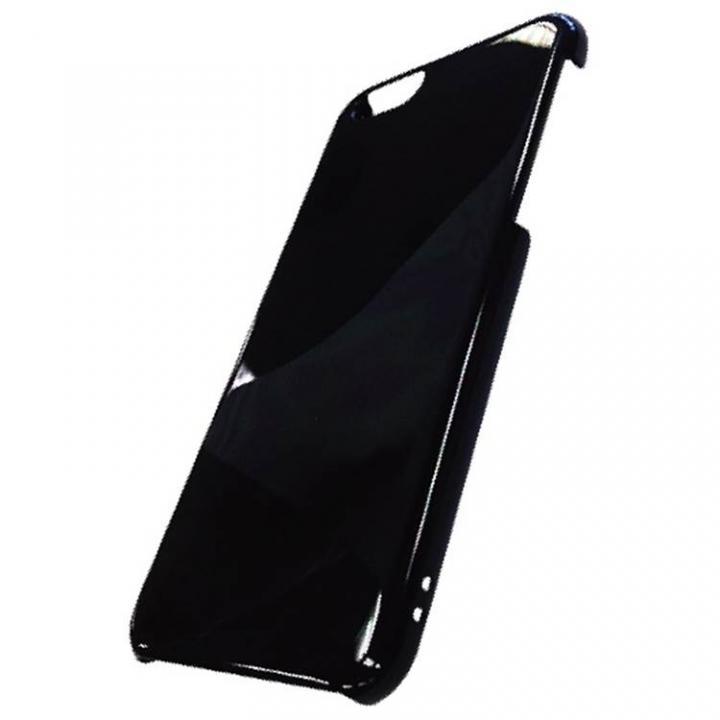 ハードシェルグロス ブラック iPhone 6ケース
