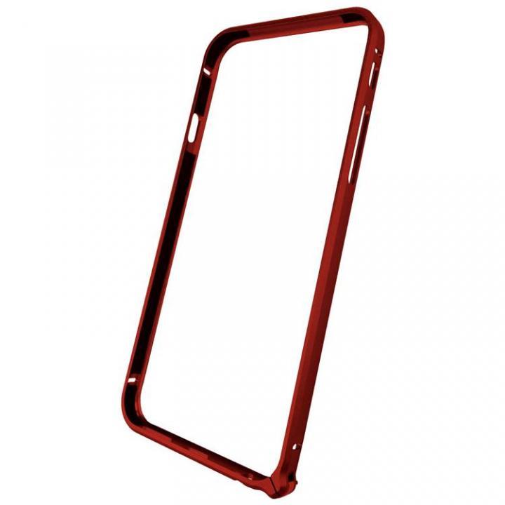 軽量8gアルミバンパー エアフレーム レッド iPhone 6バンパー