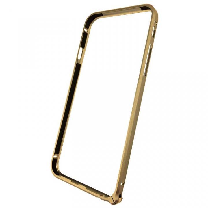 【iPhone6ケース】軽量8gアルミバンパー エアフレーム ゴールド iPhone 6バンパー_0