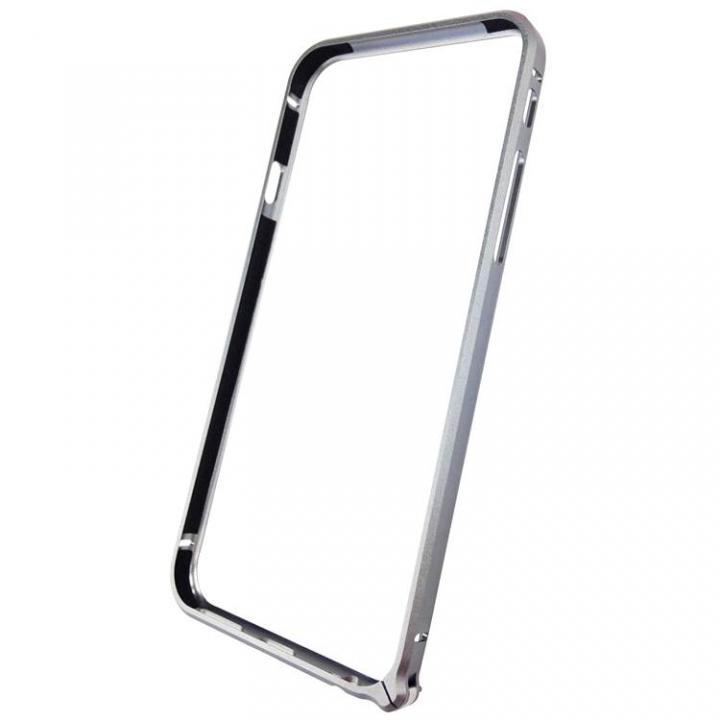【iPhone6ケース】軽量8gアルミバンパー エアフレーム シルバー iPhone 6バンパー_0