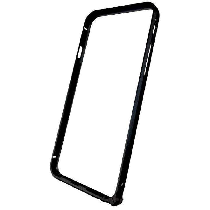 【iPhone6ケース】軽量8gアルミバンパー エアフレーム ブラック iPhone 6バンパー_0