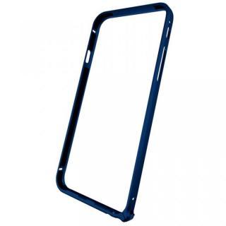 【9月下旬】軽量8gアルミバンパー エアフレーム ネイビー iPhone 6バンパー