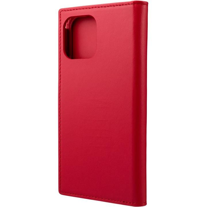 GRAMAS COLORS Italian Genuine Leather 手帳型ケース Red iPhone 12/iPhone 12 Pro【4月下旬】_0