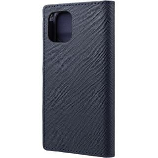 iPhone 12 mini (5.4インチ) ケース GRAMAS COLORS EURO Passione PU Leather 手帳型ケース Dark Navy iPhone 12 mini