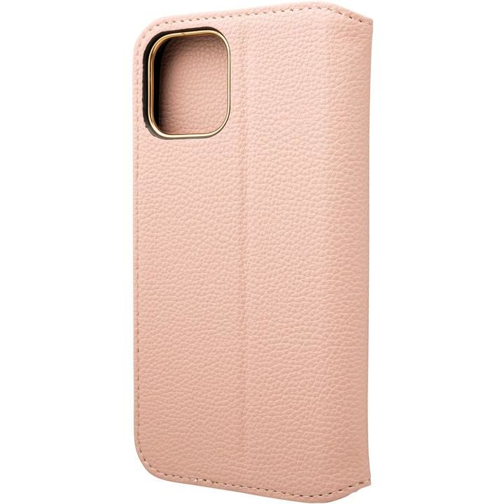 GRAMAS COLORS Shrink PU Leather 手帳型ケース Pink iPhone 12/iPhone 12 Pro_0