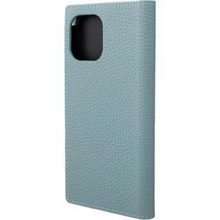 iPhone 12 Pro Max (6.7インチ) ケース GRAMAS Shrunken-calf Leather 手帳型ケース Baby Blue iPhone 12 Pro Max