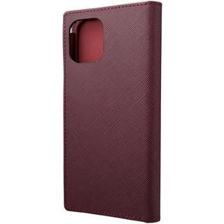 iPhone 12 / iPhone 12 Pro (6.1インチ) ケース GRAMAS COLORS EURO Passione PU Leather 手帳型ケース Bordeaux iPhone 12/iPhone 12 Pro