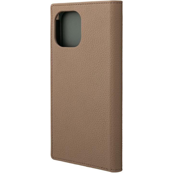 GRAMAS Shrunken-calf Leather 手帳型ケース Tape iPhone 12 Pro Max_0