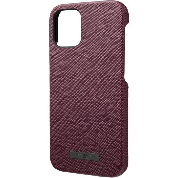 GRAMAS COLORS EURO Passione PU Leather シェルケース Bordeaux iPhone 12 mini_0