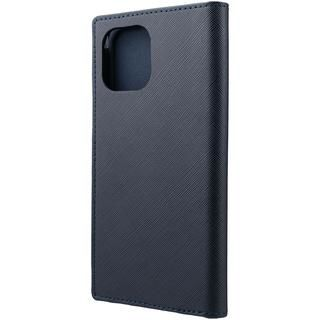 iPhone 12 Pro Max (6.7インチ) ケース GRAMAS COLORS EURO Passione PU Leather 手帳型ケース Dark Navy iPhone 12 Pro Max