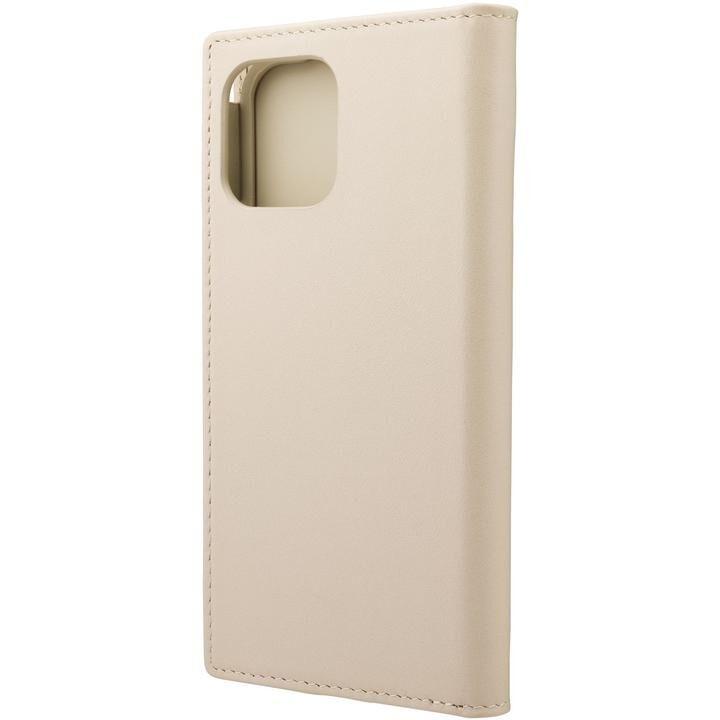 GRAMAS COLORS Italian Genuine Leather 手帳型ケース Ivory iPhone 12/iPhone 12 Pro【4月下旬】_0