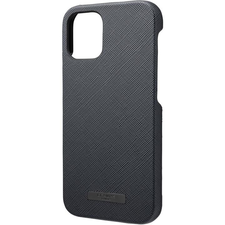 GRAMAS COLORS EURO Passione PU Leather シェルケース Dark Navy iPhone 12 mini_0