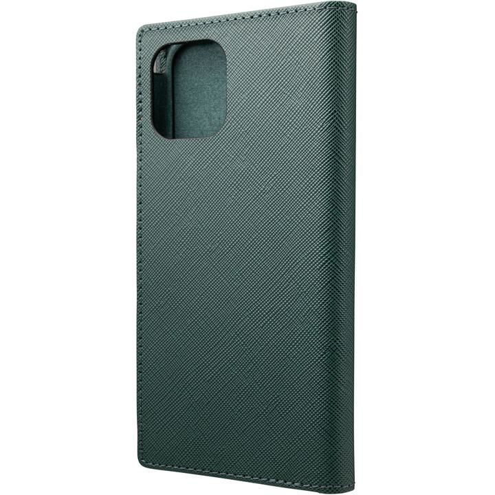 GRAMAS COLORS EURO Passione PU Leather 手帳型ケース Forest Green iPhone 12/iPhone 12 Pro_0