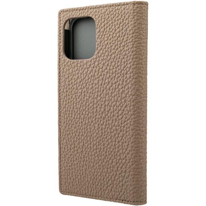 GRAMAS Shrunken-calf Leather 手帳型ケース Tape iPhone 12/iPhone 12 Pro_0