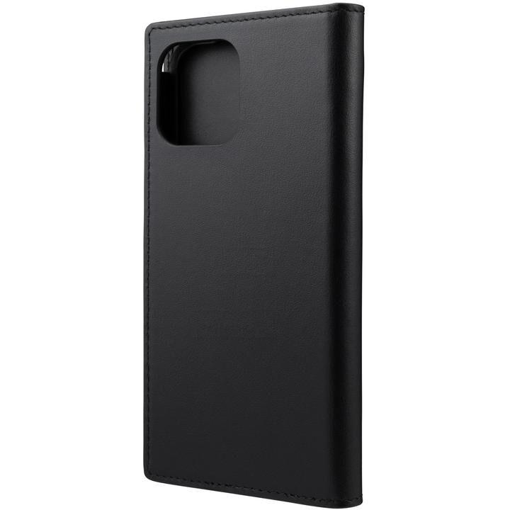 GRAMAS COLORS Italian Genuine Leather 手帳型ケース Black iPhone 12/iPhone 12 Pro_0