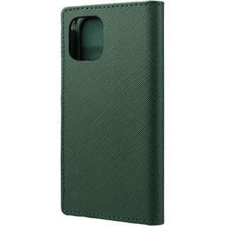 iPhone 12 mini (5.4インチ) ケース GRAMAS COLORS EURO Passione PU Leather 手帳型ケース Forest Green iPhone 12 mini【11月中旬】