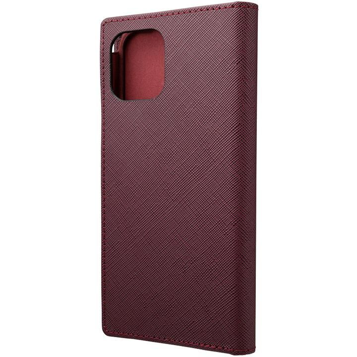 GRAMAS COLORS EURO Passione PU Leather 手帳型ケース Bordeaux iPhone 12/iPhone 12 Pro_0