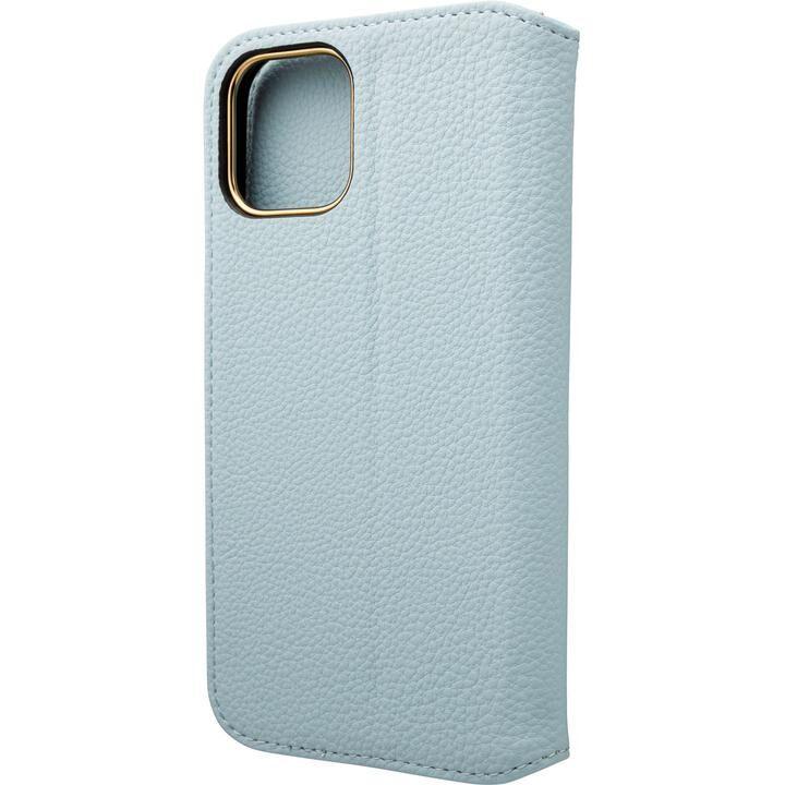GRAMAS COLORS Shrink PU Leather 手帳型ケース Light Blue iPhone 12/iPhone 12 Pro_0
