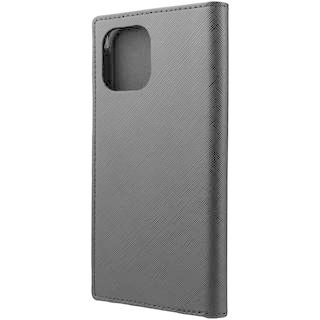 iPhone 12 Pro Max (6.7インチ) ケース GRAMAS COLORS EURO Passione PU Leather 手帳型ケース Black iPhone 12 Pro Max